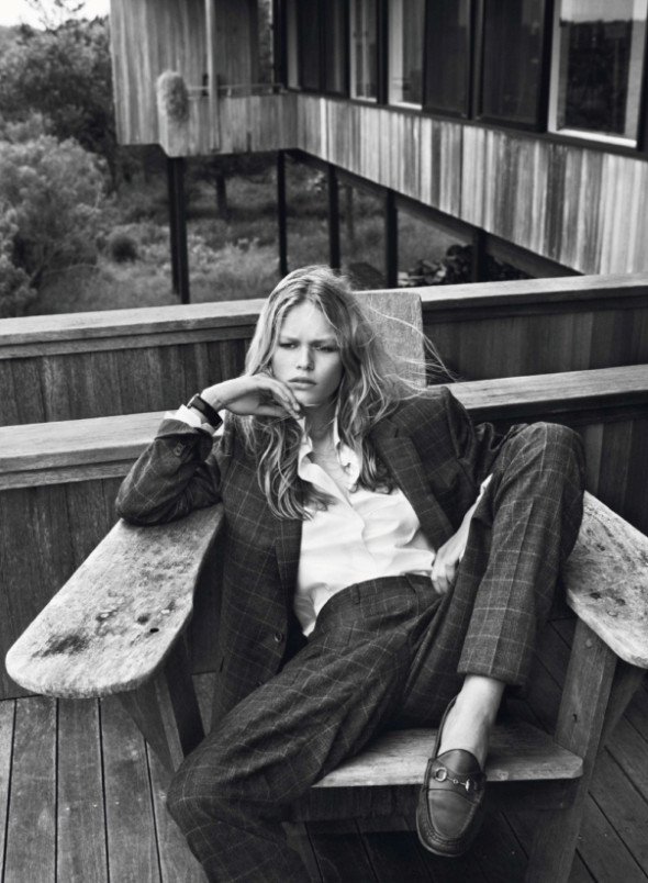 Anna Ewers By Josh Olins For Vogue Paris October 2013-6