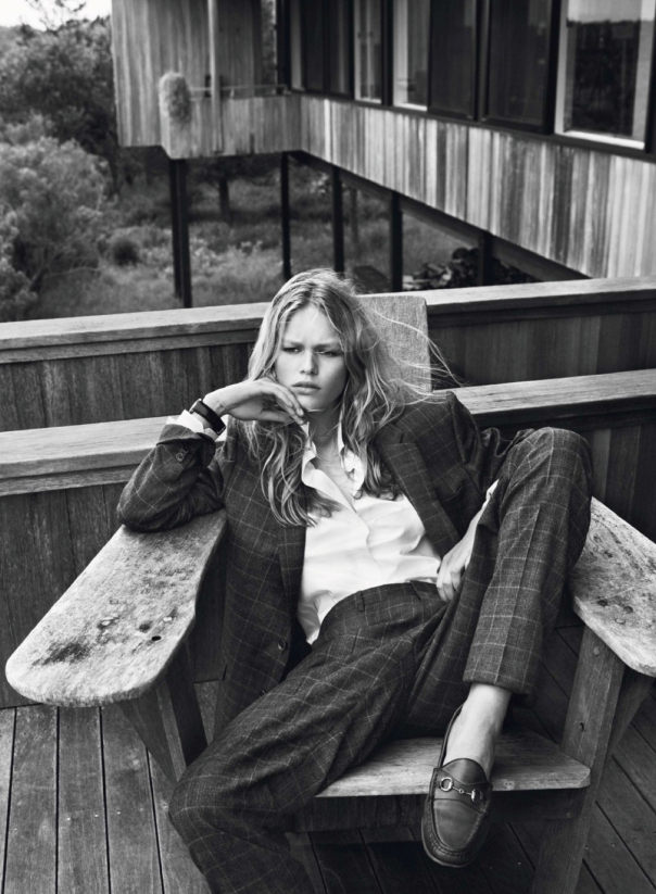 Vogue French Magazine Subscription: Anna Ewers By Josh Olins For Vogue Paris October 2013