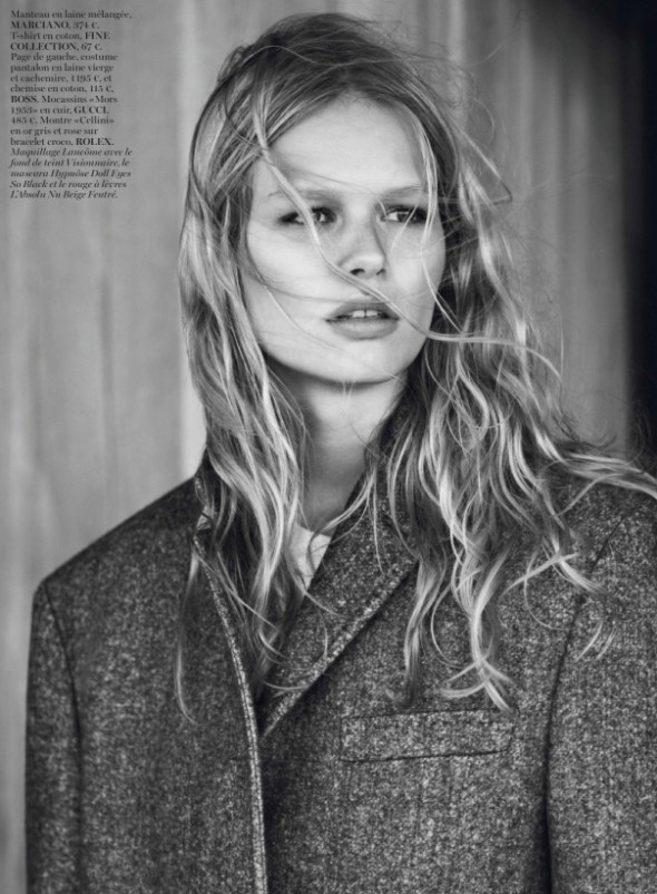 Anna Ewers By Josh Olins For Vogue Paris October 2013-7