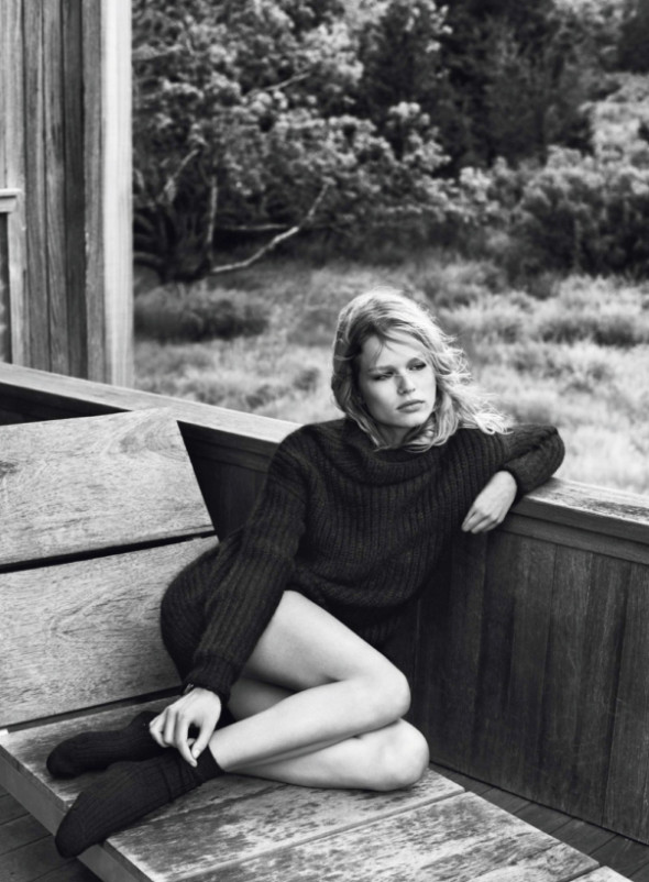 Anna Ewers By Josh Olins For Vogue Paris October 2013-8