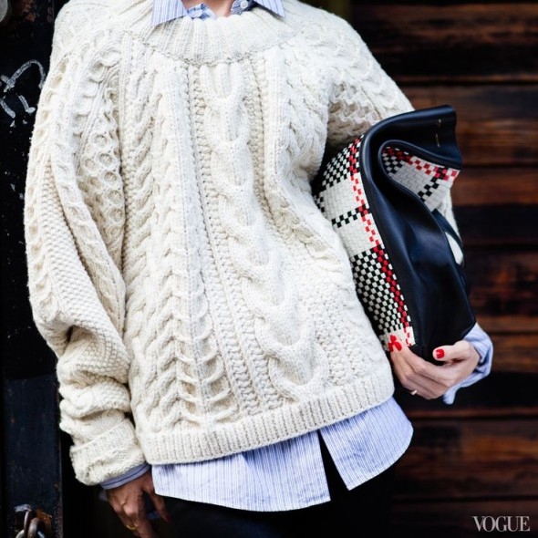 Classiq-Style Note- The Cable Knit Sweater