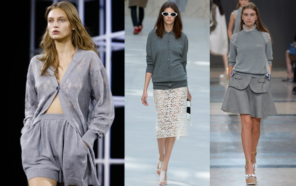 SS 2014-Trends I can work-grey cardigans and sweaters