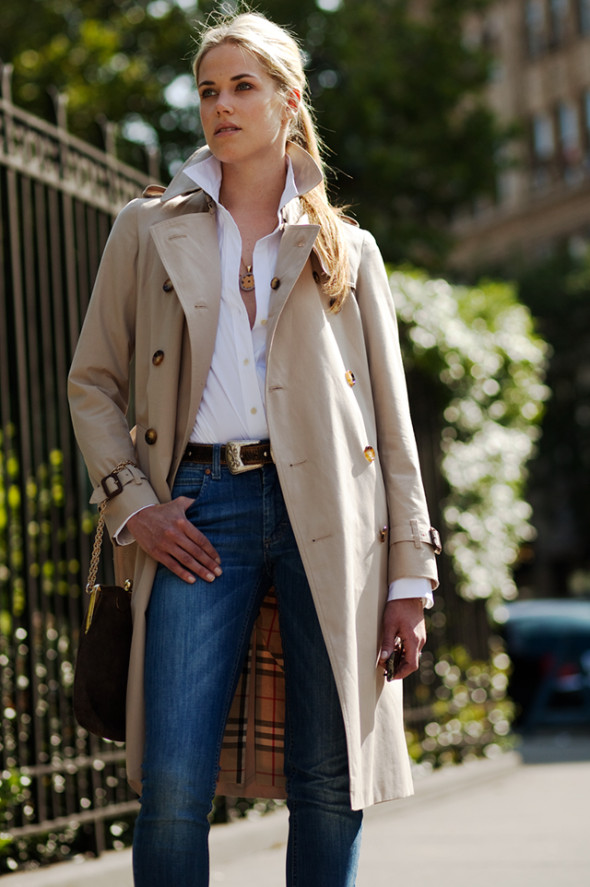 The Trench-by The Sartorialist-New York