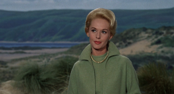 Tippi Hedren's costumes The Birds 2
