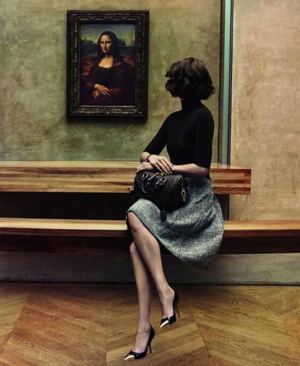 Arizona Muse for Louis Vuitton photographed by nez and Vinoodh