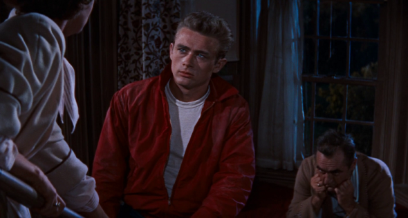 James Dean's red jacket in Rebel Without a Cause