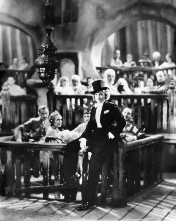 Marlene Dietrich in Morocco 1930