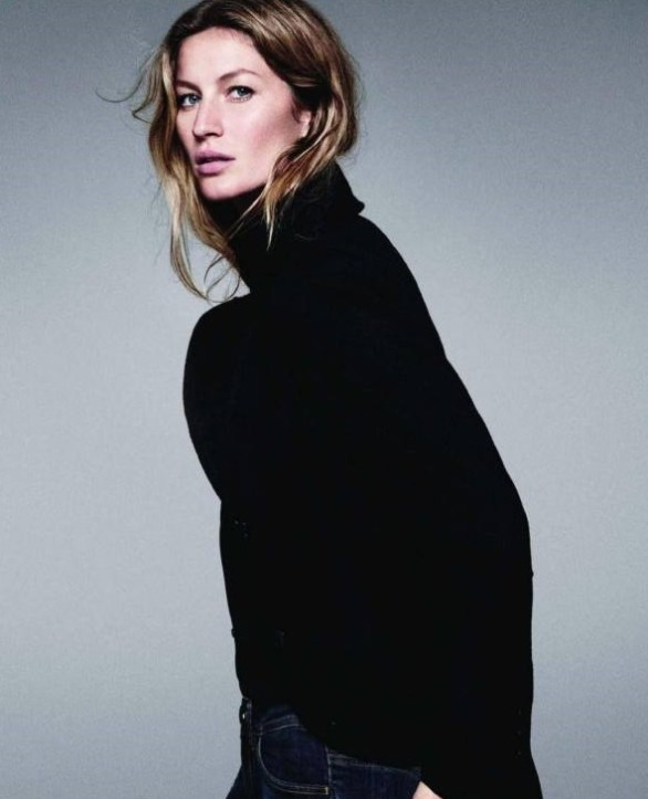 Style Note The Turtleneck-Gisele Bundchen for Esprit Fall 2011