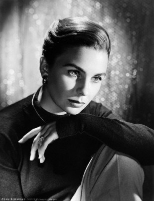 Actress Jean Simmons