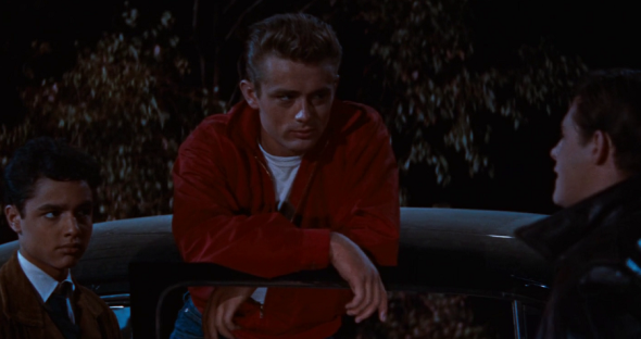 Style in film-James Dean in Rebel Without A Cause - 1