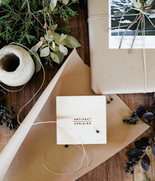 DIY gift wrapping-Artifact Uprising
