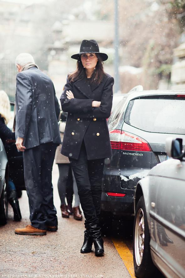 Emmanuelle Alt-Stockholm Streetstyle