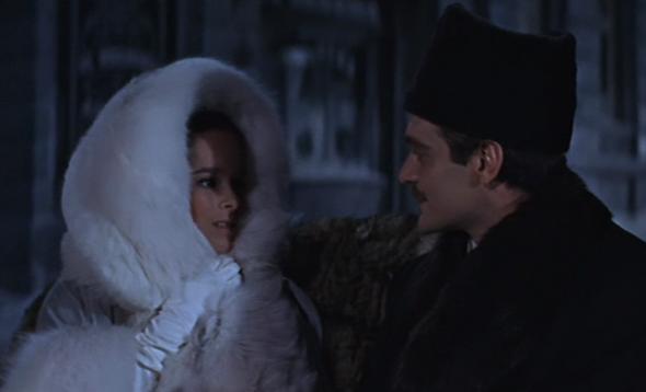 Geraldine Chaplin's style Dr Zhivago