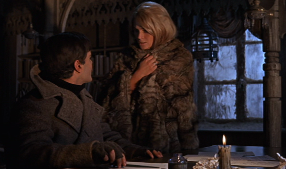Julie Christie and Omar Sharif in Dr Zhivago