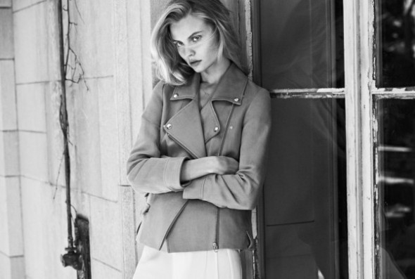 Magdalena Frackowiak by Lachlan Bailey for Filippa K SS 2014 4