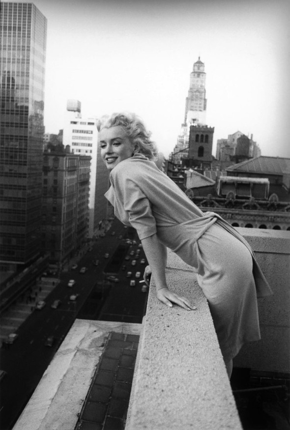 Marilyn Monroe in New York by Ed Feingersh, 1955
