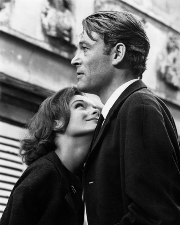 Peter O'Toole and Romy Schneider-What's New Pussycat-1965