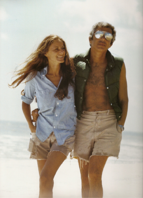 Ricky and Ralph Lauren by Les Goldberg-1977