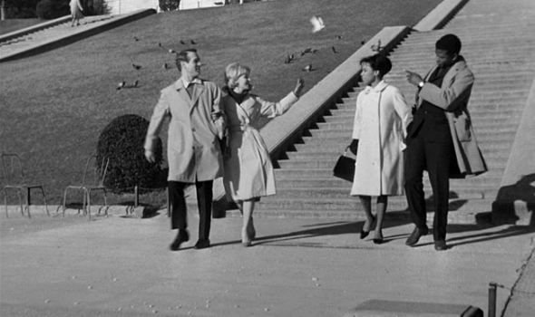 Style in Film-Paris Blues -1961