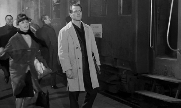 Style in Film-Paul Newman in Paris Blues 1961