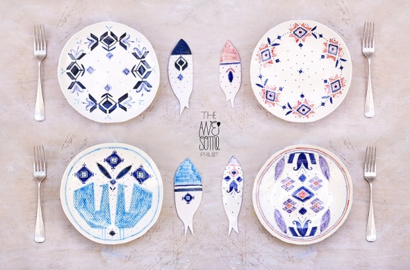 The Awesome Project-porcelain tableware