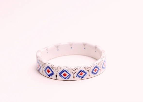 porcelain bangle-The Awesome Project