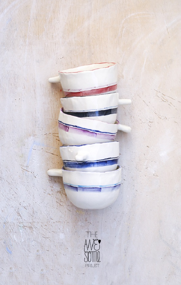 porcelain cups-The Awesome Project