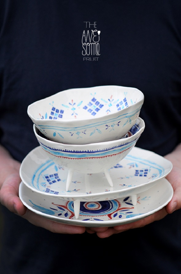 porcelain set-The Awesome Project