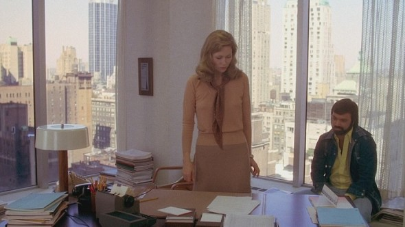 Faye Dunaway's costumes in Network