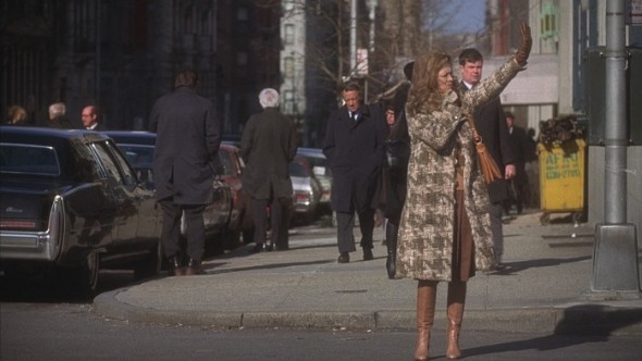Faye Dunaway's style in Network 1976