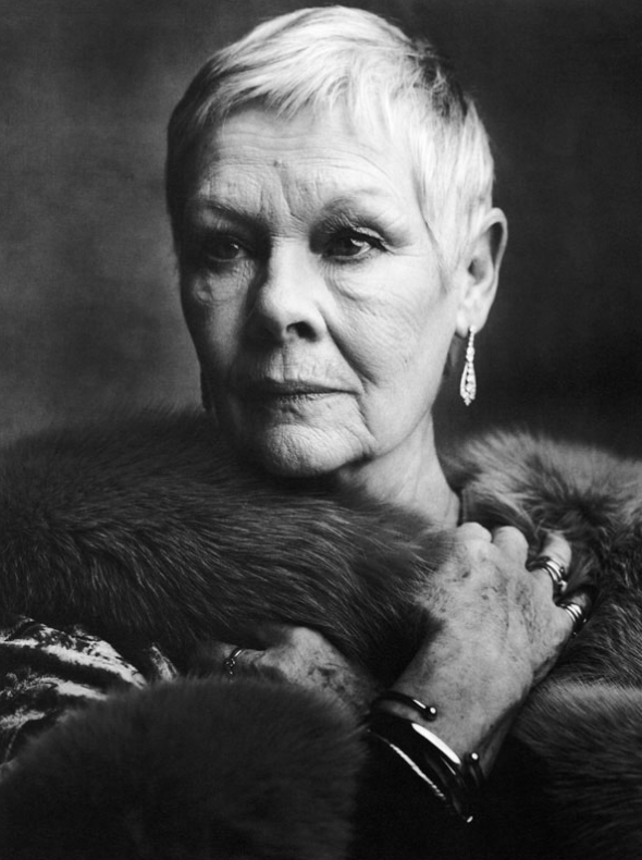 Judi Dench by Ann Caruso for Vanity Fair