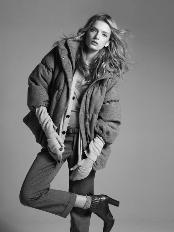 Lily Donaldson for Gap 2008 by Mikael Jansson