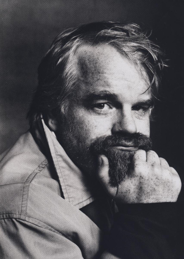 Philip Seymour Hoffman by Irving Penn