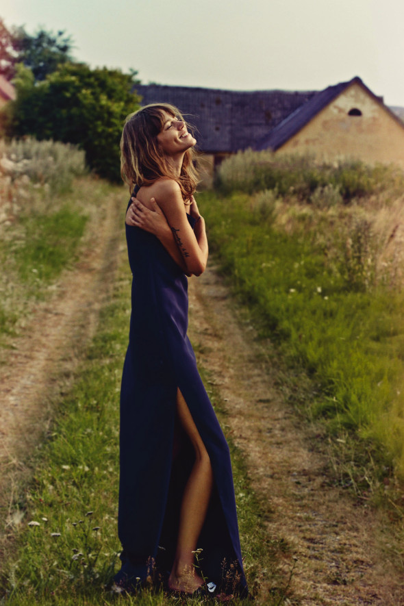 Freja Beha Erichsen Vogue UK Jan 2014