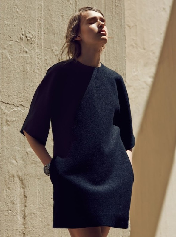 Three classic items for spring-dress with pockets-Maddison Brown by Beau Grealy