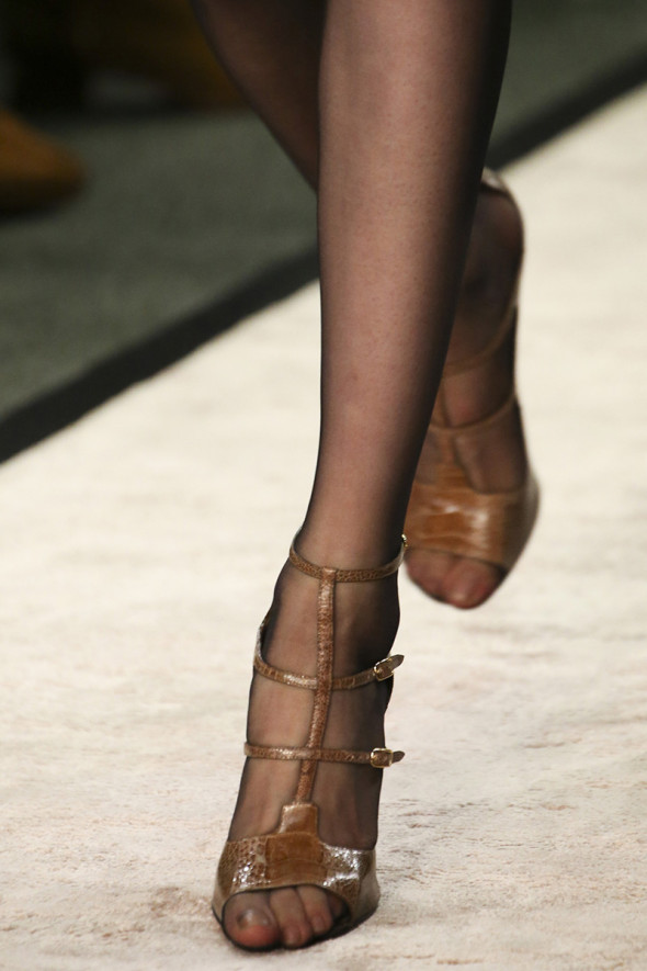 givenchy fall 2014-stockings and sandals-1