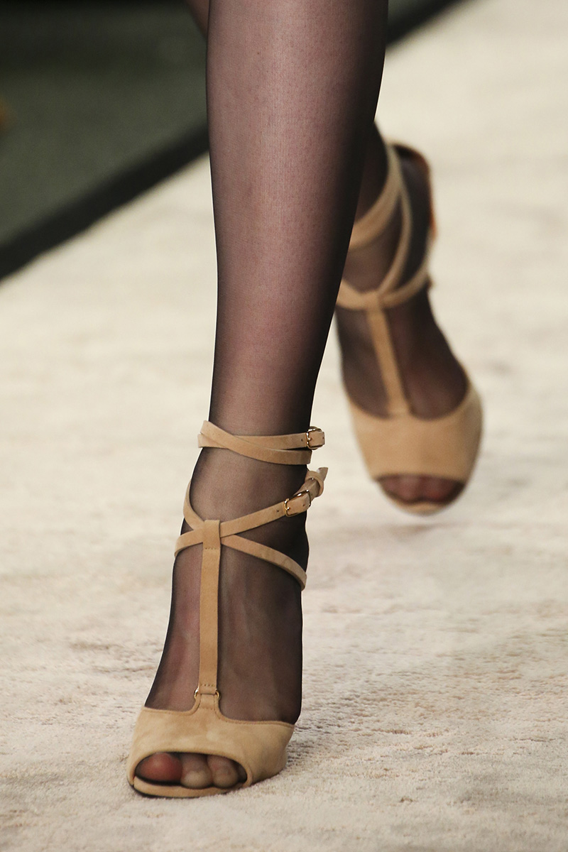 Givenchy Teaches Us How Sandals And Stockings