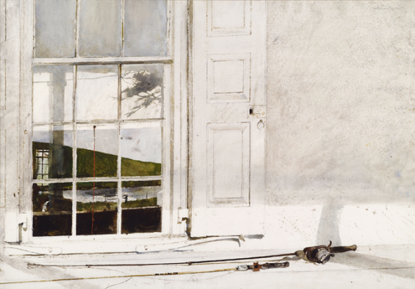 Andrew Wyeth-Rod and Reel 1975