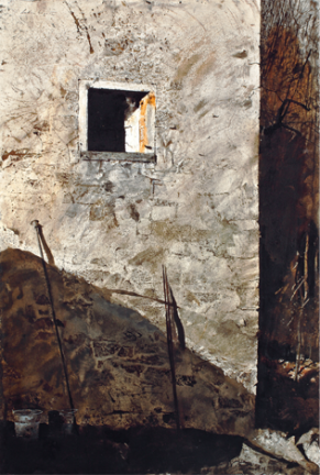 Andrew Wyeth-The Pikes 1965