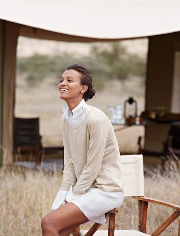 Capturing beauty #47-Liya Kebede for J Crew