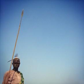 Catle Camp South Sudan by Treana Peake