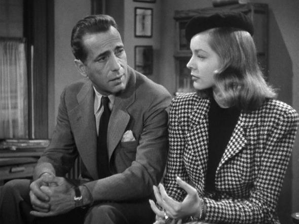 Lauren Bacall-Humphrey Bogart-The Big Sleep