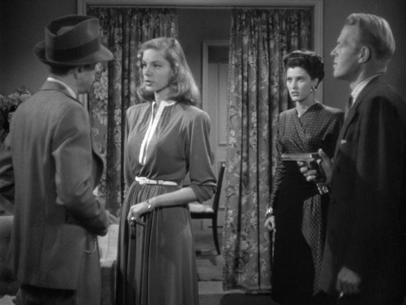 Lauren Bacall's costumes The Big Sleep