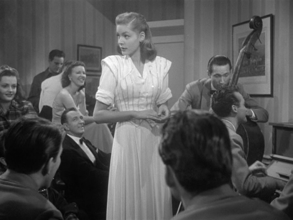 Lauren Bacall's style-The Big Sleep