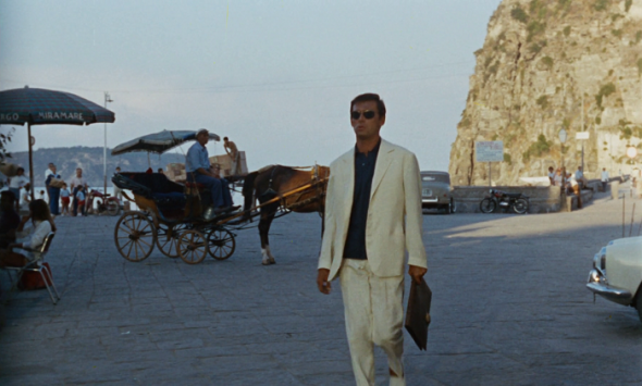 Maurice Ronet's style Purple Noon 1960