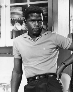 The polo shirt-Sidney Poitier
