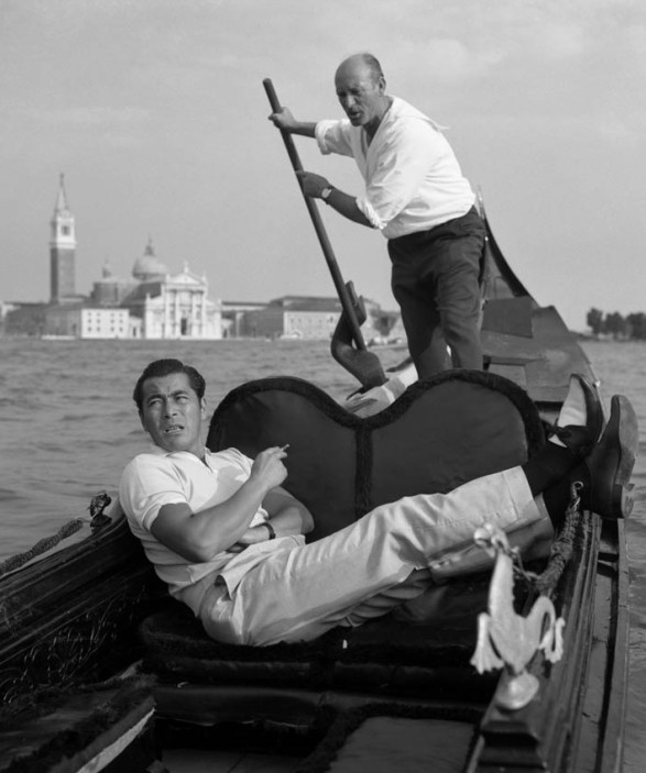 The polo shirt-Toshiro Mifune, Venice 1961
