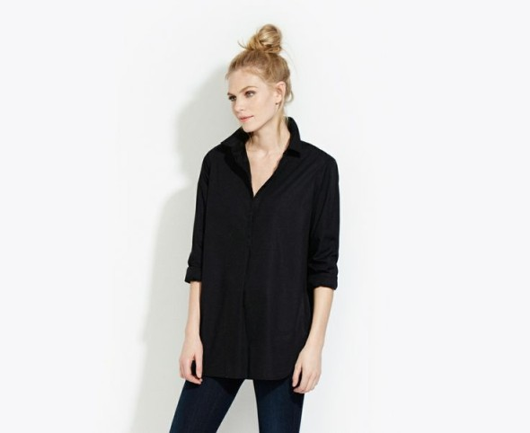 AYR oversized black shirt