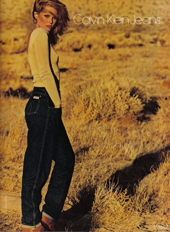Capturing Beauty-Patti Hansen Calvin Klein Jeans ad 1980