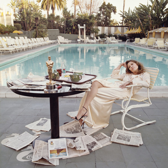 Faye Dunaway by Terry O'Neill